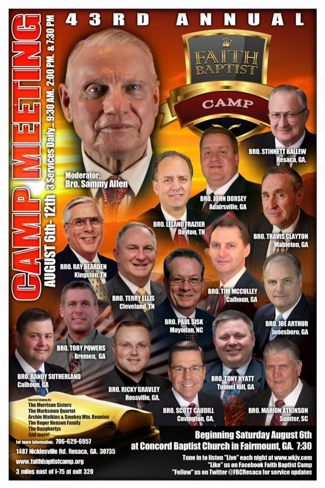 Faith Baptist Camp – Official Website of Faith Baptist Camp